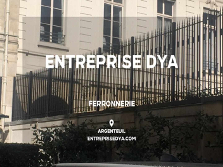 Ferronnier Dans Le Var ferronnerie dans le val-d'oise - entreprise dya.