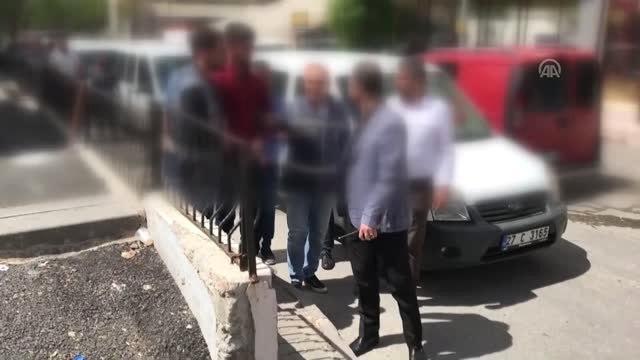 Gaziantepte Polisin Silahla Yaralanması - Zanlılar Adliyeye Sevk Edildi