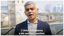 Fête de l'Europe, message de Sadiq Khan
