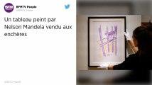 Un tableau signé Nelson Mandela vendu 112575dollars à New York