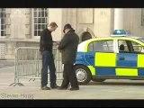 Handcuffed Cop