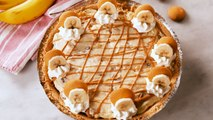 This Peanut Butter Banana Cheesecake Is Our New Dessert Obsession
