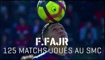 125 Matchs joués avec le SMCaen pour Fayçal Fajr