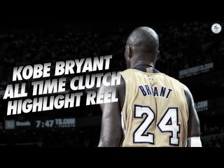 Kobe Bryant Ultimate Clutch Reel! 1996-2015! (All Kobe Bryant Game Winners)