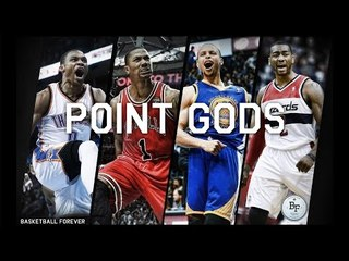 The Point Gods (Steph Curry, Russell Westbrook, John Wall, Derrick Rose)