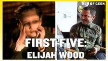 Can Elijah Wood Name His First Five Credits on IMDB?