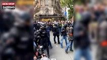 1er mai : un CRS met sa matraque dans le pantalon d'un manifestant, la nouvelle vidéo polémique