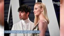 Sophie Turner Steps Out in 'Just Married' Sash After Surprise Las Vegas Wedding with Joe Jonas