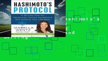 [BEST SELLING]  Hashimoto's Protocol: A 90-Day Plan for Reversing Thyroid Symptoms and Getting