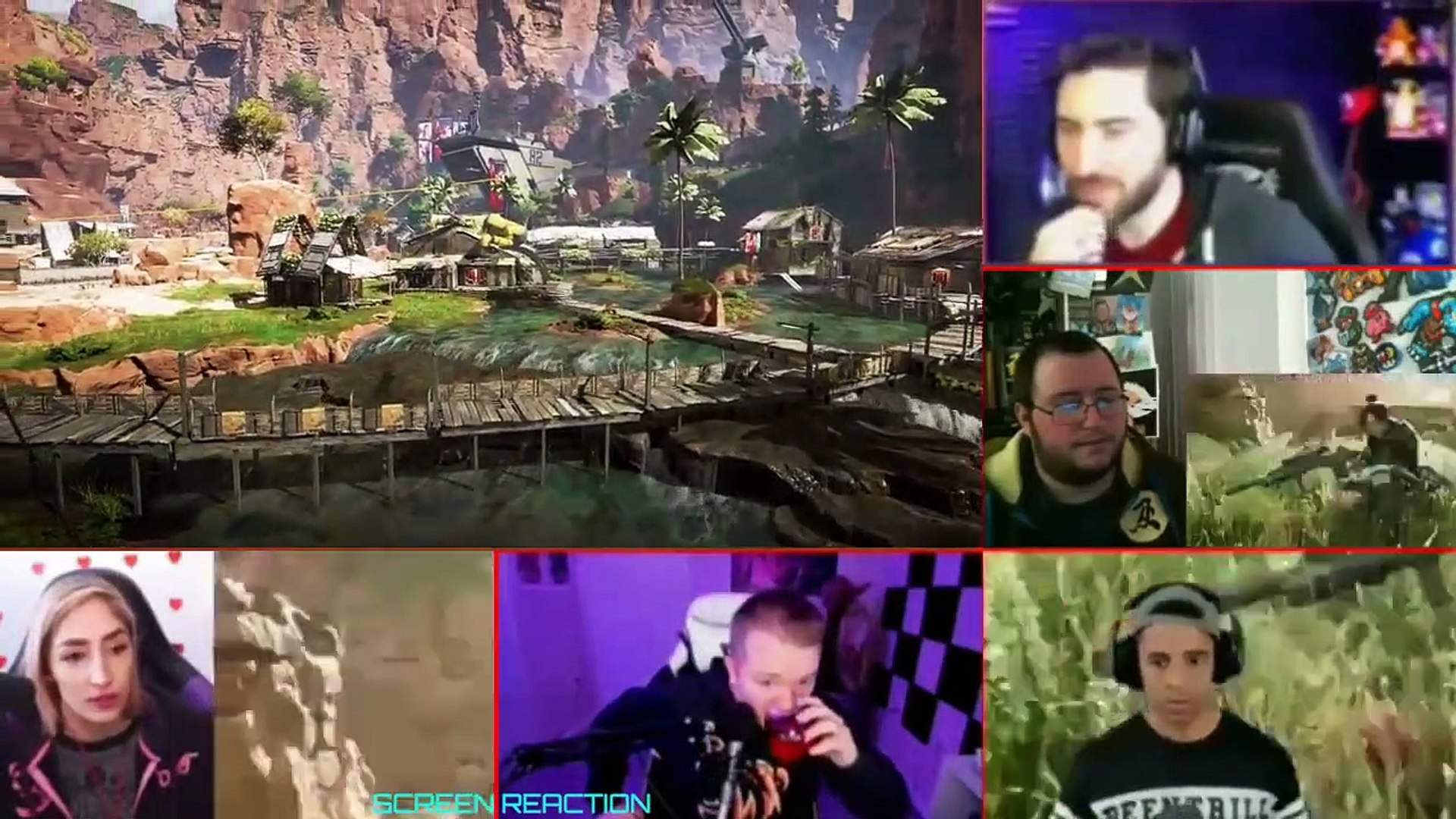 Apex Legends - Official Gameplay Deep Dive Trailer - Titanfall Battle Royale REACTION MASHUP
