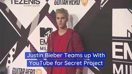 Justin Bieber Is Quiet About His Secret Project