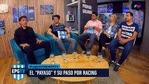 Lugüercio cuenta lo que significa jugar en Racing