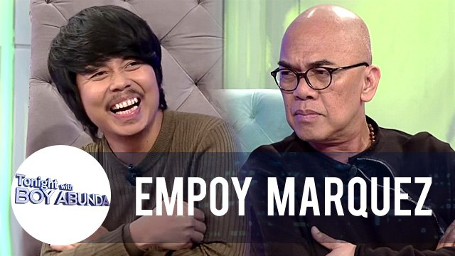 Empoy reacts on people saying that he looks like John Lloyd | TWBA