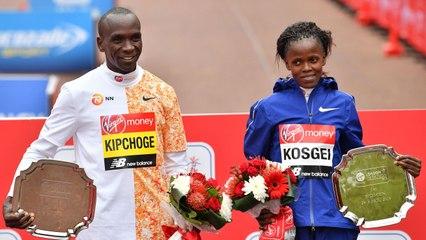Eliud Kipchoge, Brigid Kosgei Win 2019 London Marathon