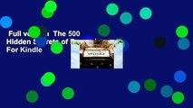 Full version  The 500 Hidden Secrets of Brussels  For Kindle