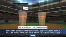 Dunkin' Poll: Do You Want To See More Pitchers Bat In American League?