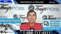 Washington Nationals vs. Philadelphia Phillies 5/4/2019 Picks Predictions