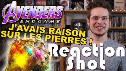 Reaction Shot #5 - Avengers : Endgame