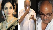 Boney Kapoor again cries badly for Sridevi | FilmiBeat
