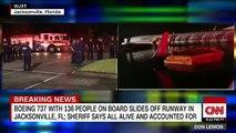 Un Boeing 737 transportant 143 personnes a manqué cette nuit son atterrissage en Floride et a terminé sa course dans un fleuve