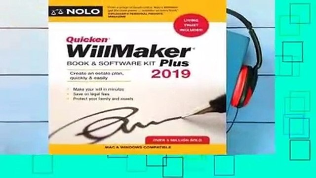 Full version  Quicken Willmaker Plus 2019 Edition: Book & Software Kit Complete