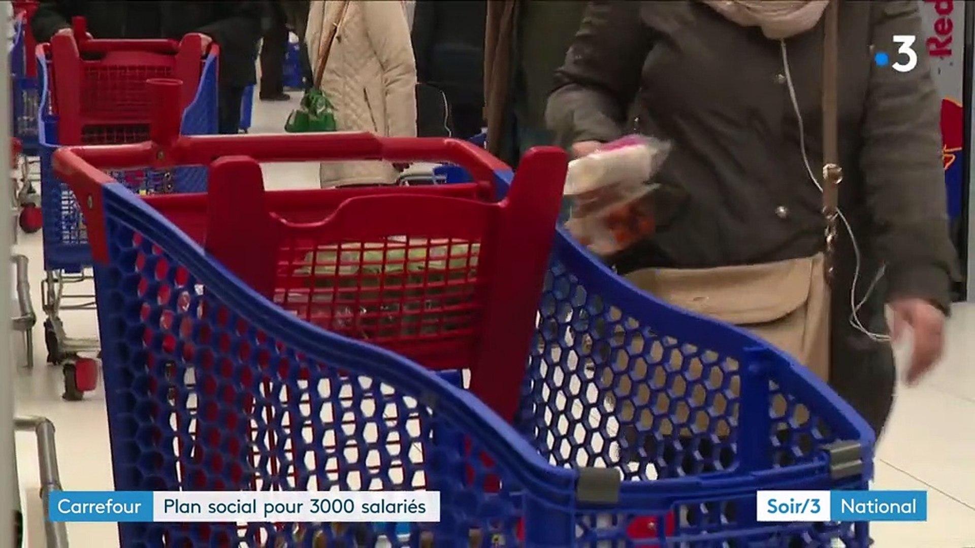 Carrefour Un Plan Social Annoncé Pour 3 000 Salariés