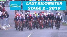 Étape 2 / Stage 2 Barnsley / Bedale - Flamme Rouge / Last Kilometer - Tour de Yorkshire 2019