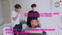 (ENG SUB)cute moment 'MAP OF THE SOUL : PERSONA' Album Unboxing (BTS ver.) - BTS (방탄소년단)