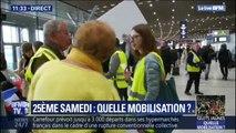 Une trentaine de gilets jaunes mobilisée à l'aéroport de Paris-Charles de Gaulle contre la privatisation d'ADP