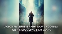 Prabhas completes Mumbai schedule of Saaho, movie nears completion!