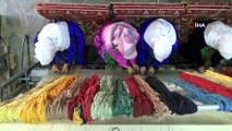 Sarayları süsleyen 'Uşak Halısı' kadınların elinde hayat buluyor