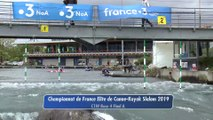 Championnat de France Elite Slalom 2019 | Course 4 - Finale A - C1 dame
