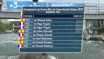 Championnat de France Elite Slalom 2019 | Course 4 - Finale B - K1 homme