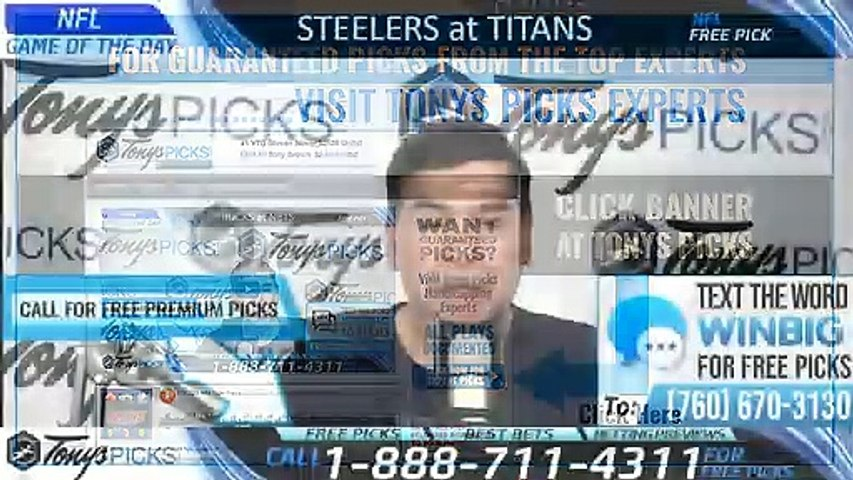 Pittsburgh Steelers vs Tennessee Titans 8/25/2019 Picks Predictions Previews