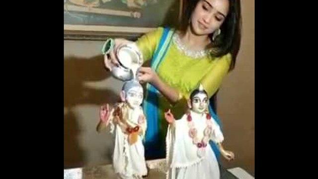Ashi Singh celebrates Krishna Janmashtami