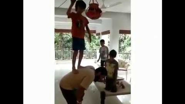 Aamir Khan celebrates Krishna Janmashtami with his son