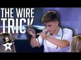 Judges Couldn't Believe What This Magician Did With Wire- - Magicians Got Talent