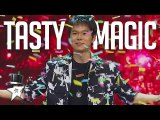 The SWEETEST Magic Trick You'll EVER Taste- Eric Chien Impresses Everyone On Asia's Got Talent 2019
