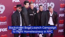 The Back Street Boys Give Back To The Homeless