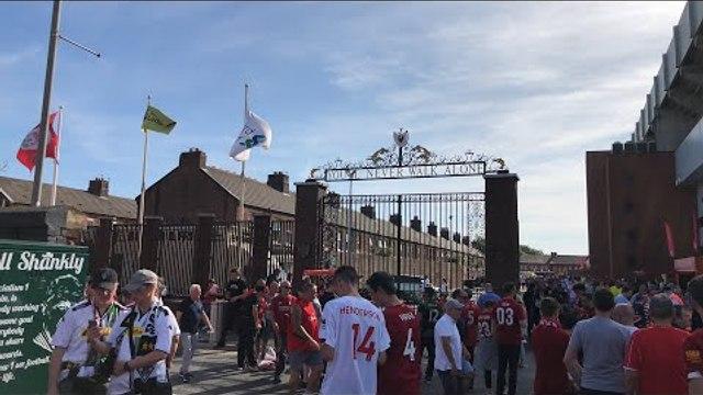 Liverpool v Arsenal Live Starting Line Up