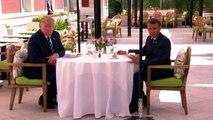 G7 di Biarritz, cena a sorpresa tra Macron e Trump