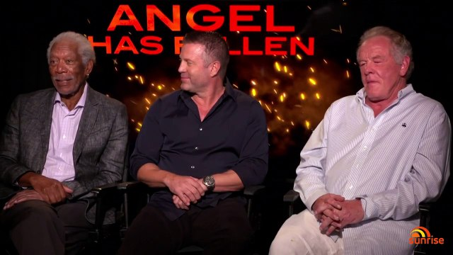 Gerard Butler, Morgan Freeman and Jada Pinkett Smith talk 'Angel Has Fallen' - Sunrise