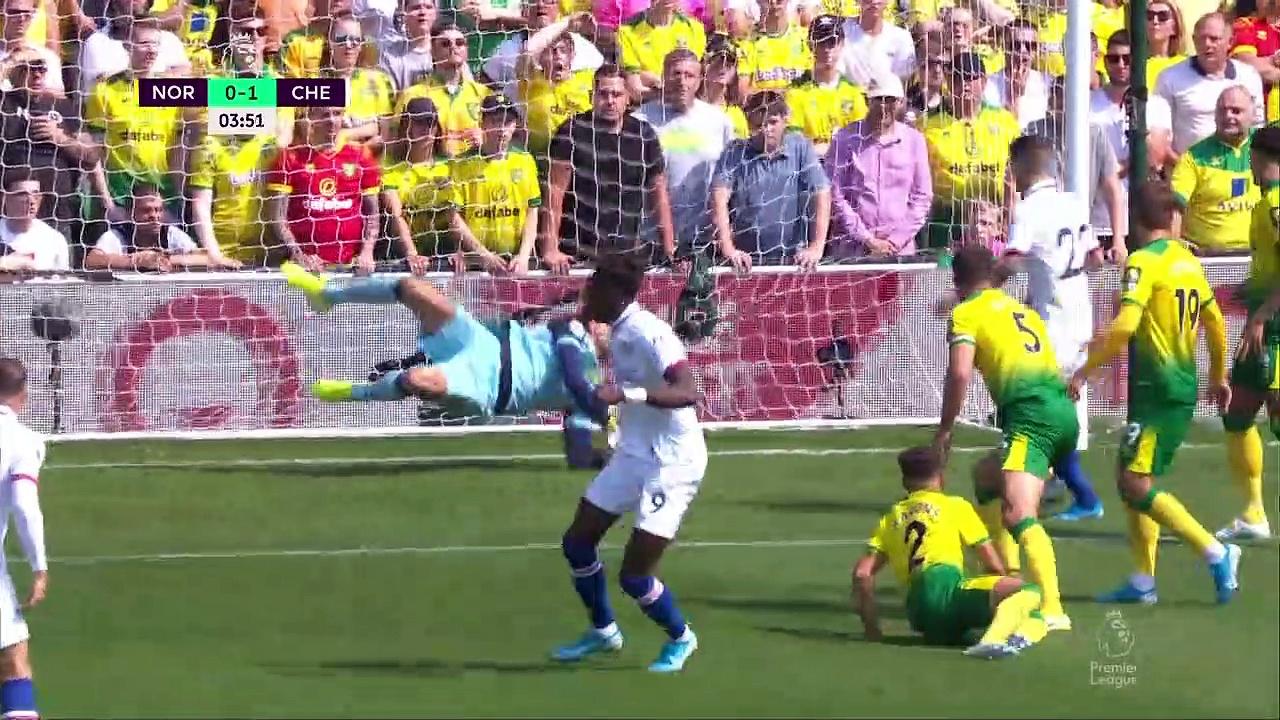 3. Hafta / Norwich - Chelsea: 2-3 (Özet)