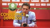 Conférence de presse Le Mans FC - FC Lorient (1-2) : Richard DEZIRE (LEMANS) - Christophe PELISSIER (FCL) - 2019/2020