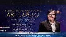 Rayakan 27 Tahun Berkarier, Ari Lasso akan Gelar Konser di 3 Kota