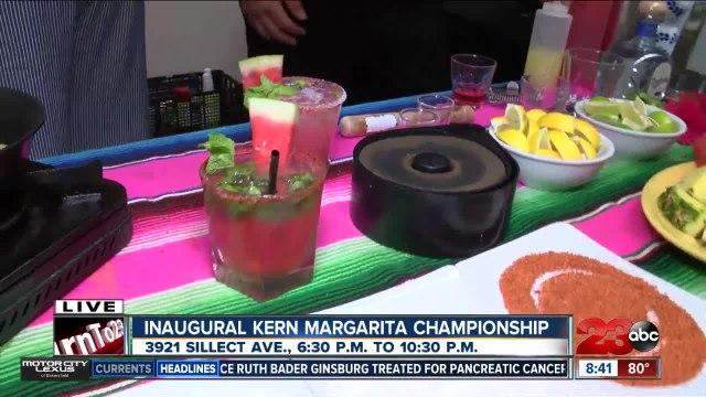 Taste more than 10 margaritas at the inaugural Kern Margarita Championship