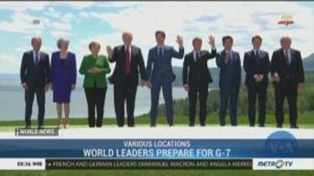 World Leaders Prepare For G-7