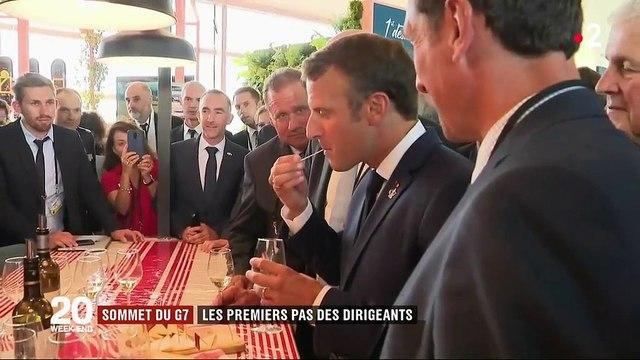 Sommet du G7 : les dirigeants sont tous arrivés à Biarritz