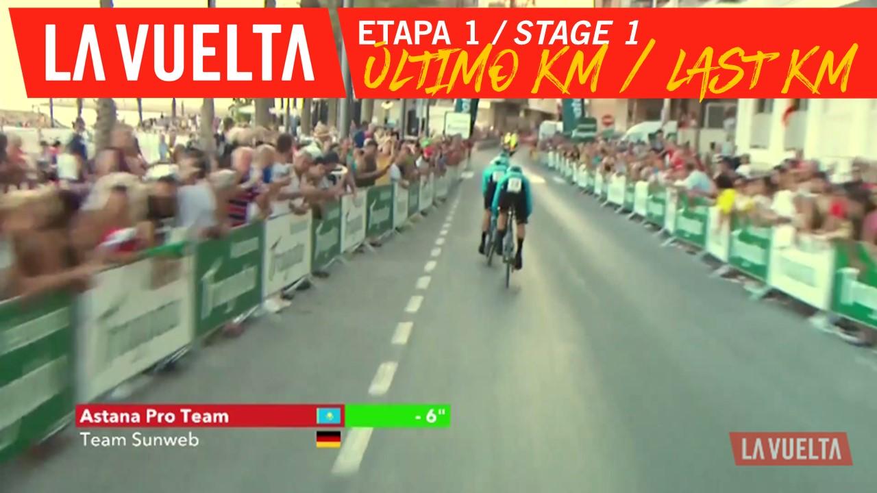 Ultimo kilómetro / Last kilometer - Étape 1 / Stage 1 | La Vuelta 19