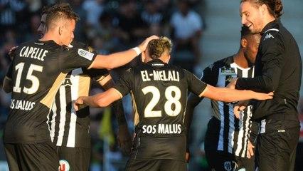But de Farid El Melali face à Oukidja (FC Metz)